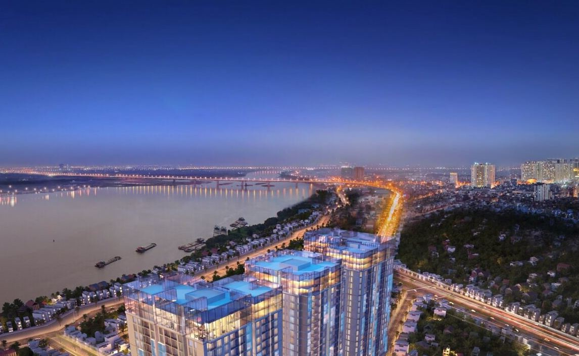View sông Hồng Sun Grand City Ancora Residence